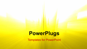 PowerPoint Template - Abstract Rays background